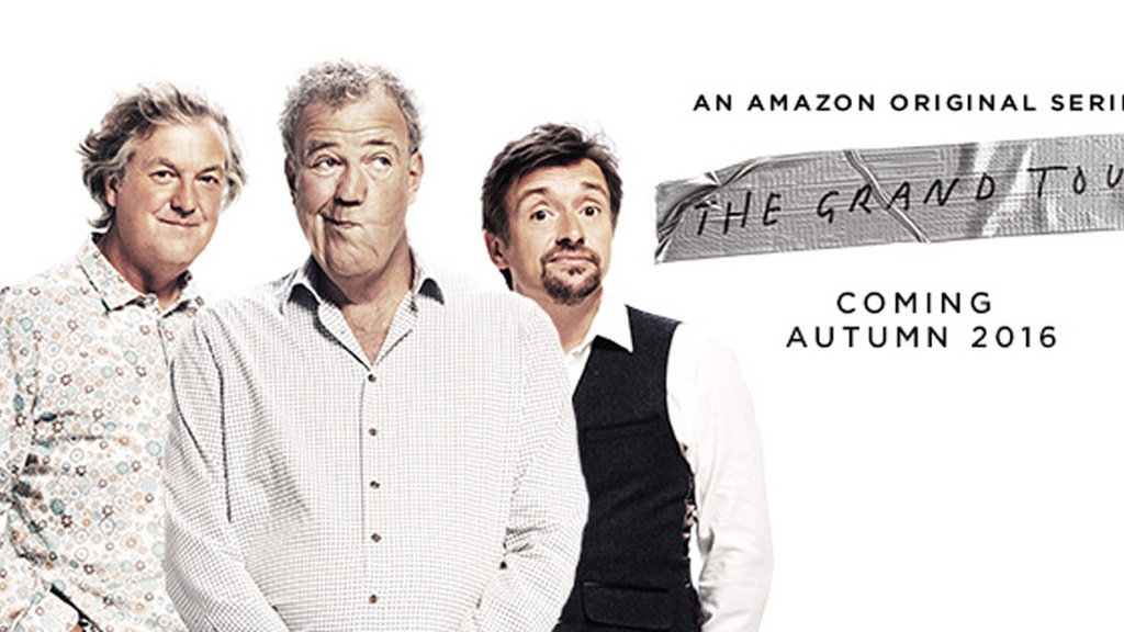 """James May, Jeremy Clarkson and Richard Hammond starring in """"The Grand Tour"""""""