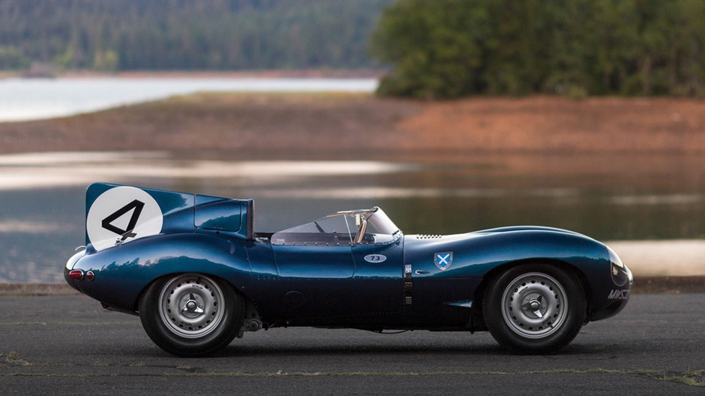 1955 Jaguar D-Type bearing chassis number XKD 501 - Image via Patrick Ernzen/RM Sotheby's