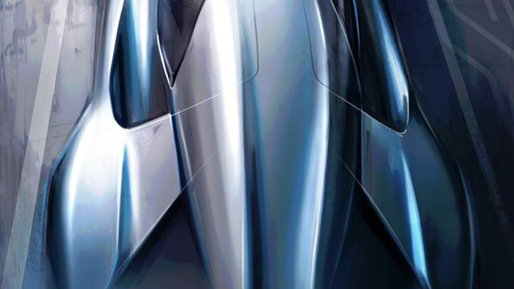 Teaser sketch for NextEV supercar