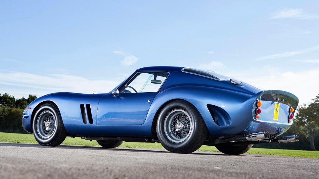 1962 Ferrari 250 GTO bearing chassis number 3387 - Image via Talacrest