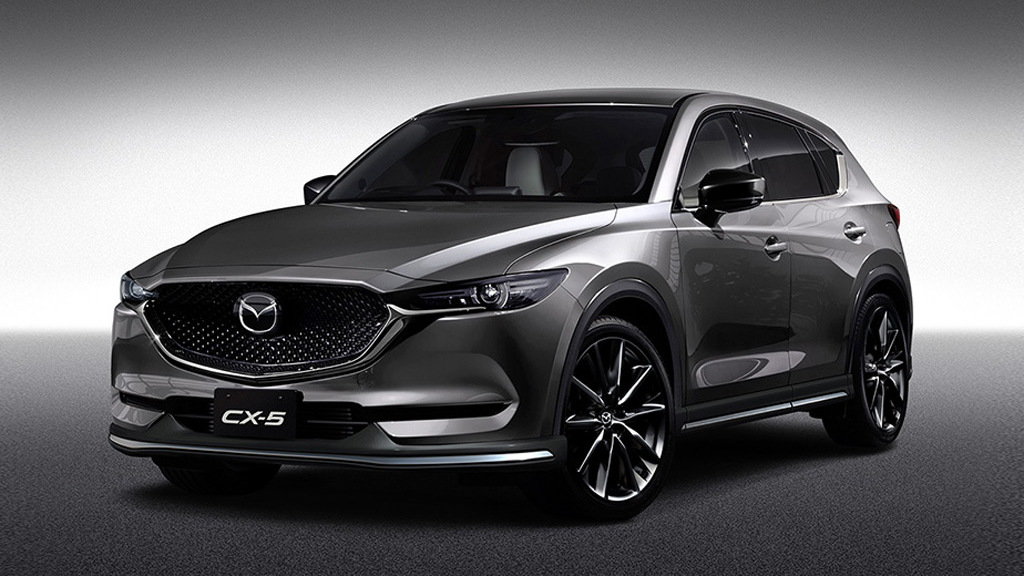 Mazda CX-5, MX-5 Miata RF get customized cool for 2017 ...