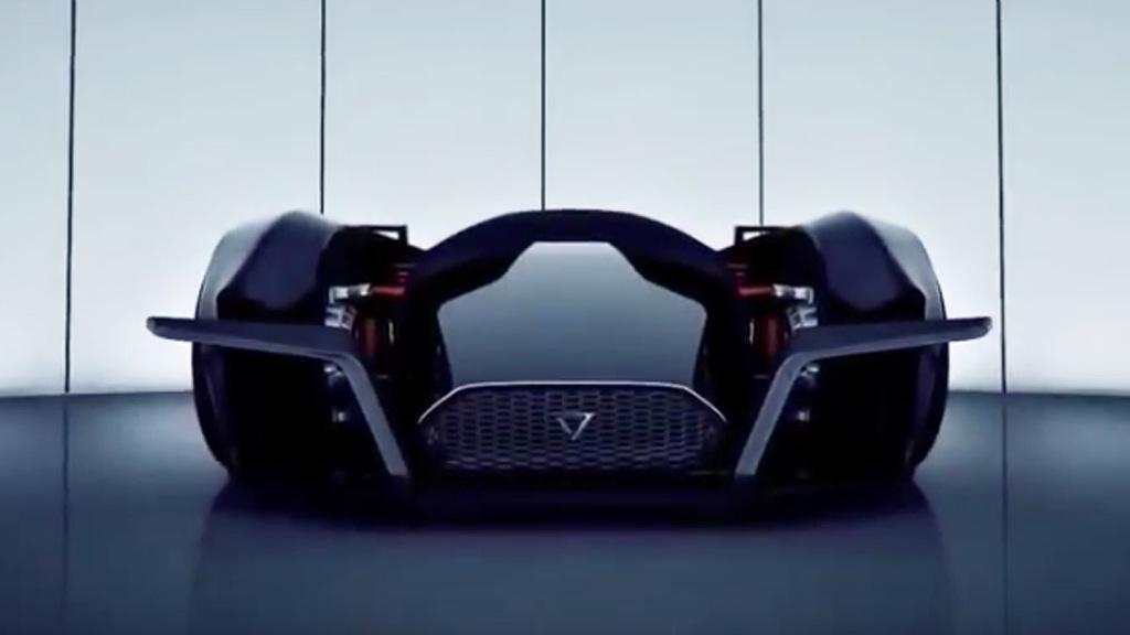 Teaser for Vanda Electrics Dendrobium concept  debuting at 2017 Geneva auto show