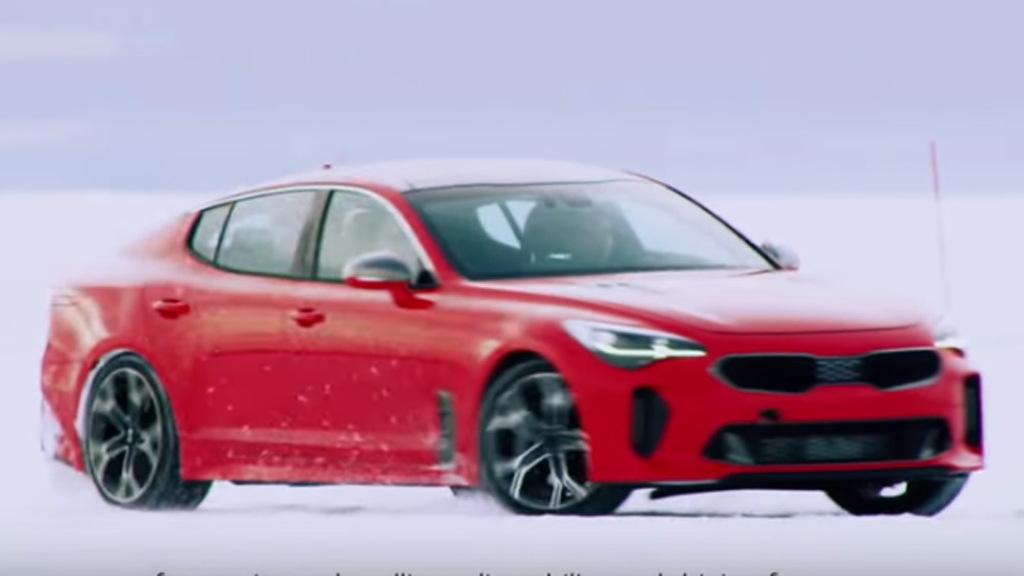 2018 Kia Stinger cold-weather testing