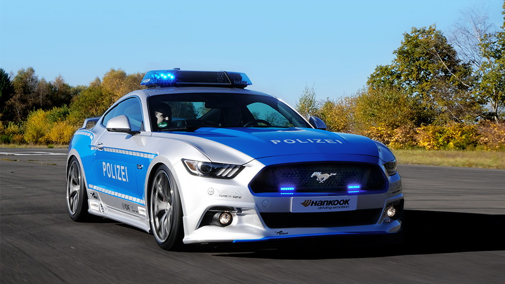 Tune it! Safe! 2017 Ford Mustang GT police car