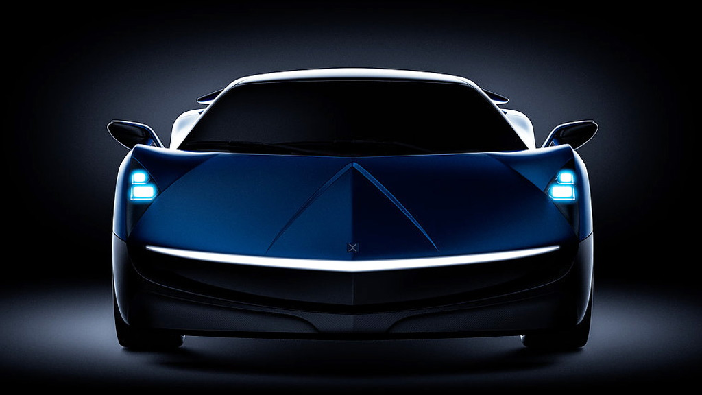 Elextra electric supercar