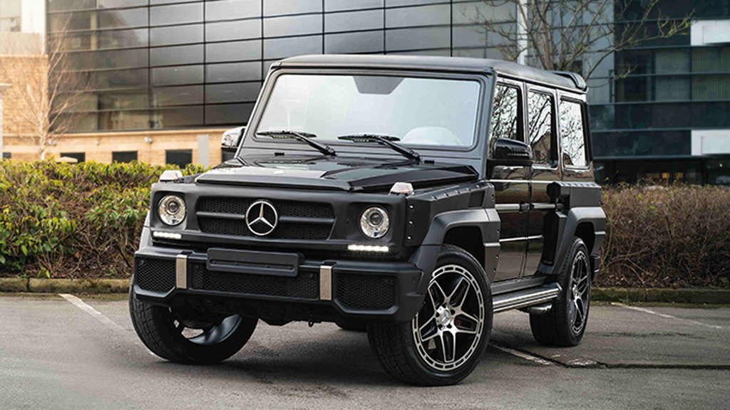 2017 Chelsea Truck Company Hammer Edition Mercedes-AMG G63