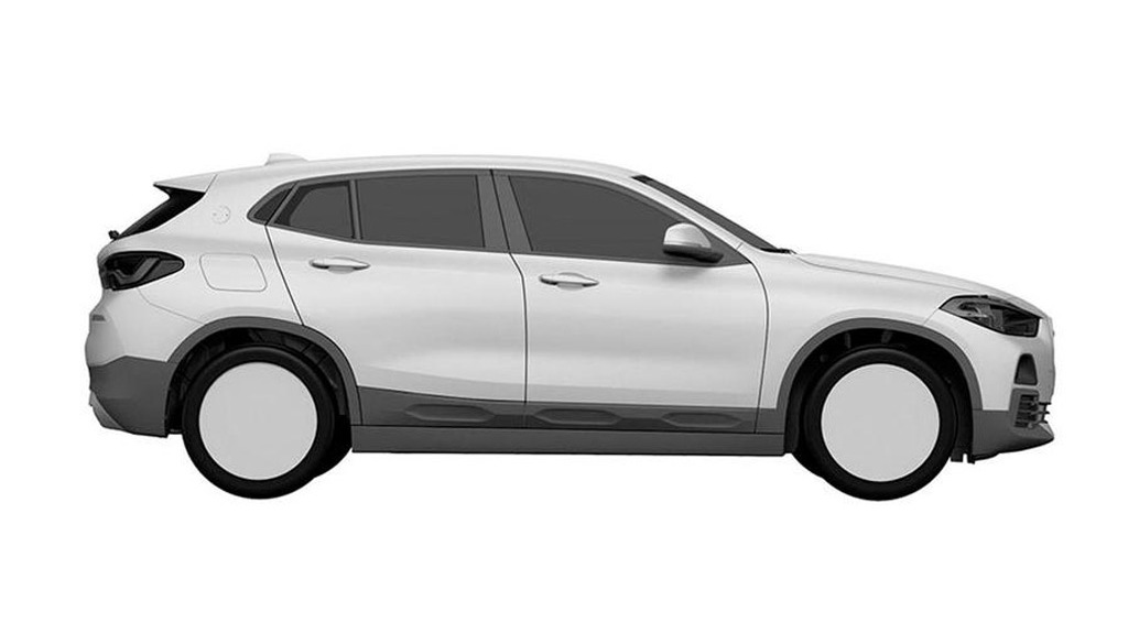BMW X2 patent drawing