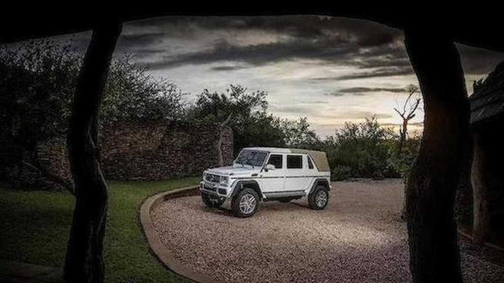 2018 Mercedes-Maybach G650 Landaulet no. 99 - Image via Bonhams