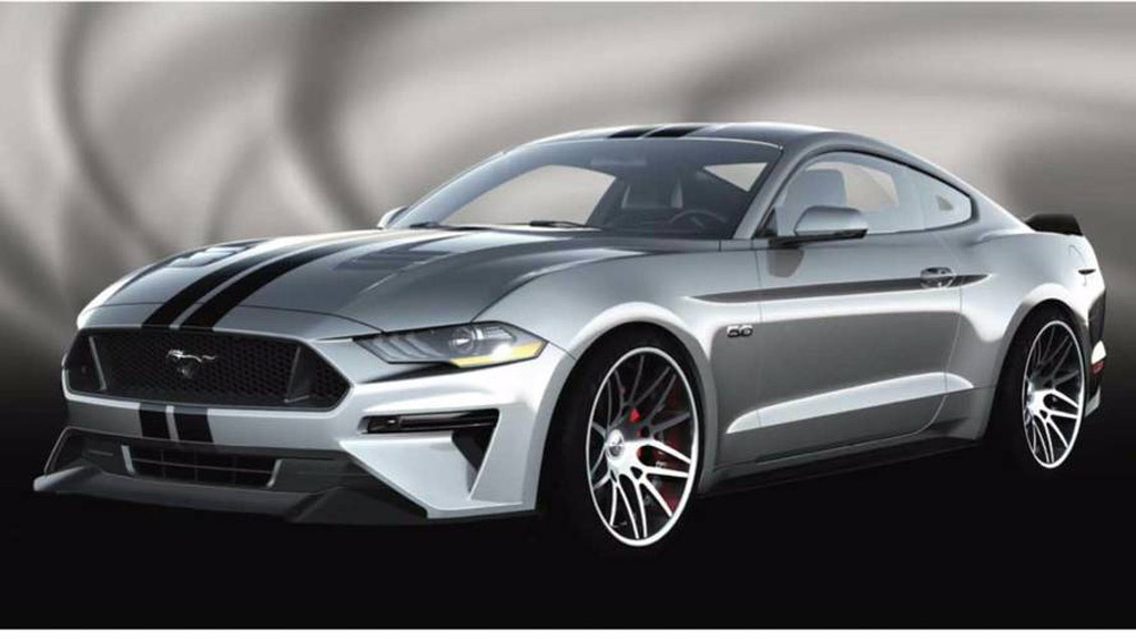 2018 Ford Mustang by Air Design, 2017 SEMA show
