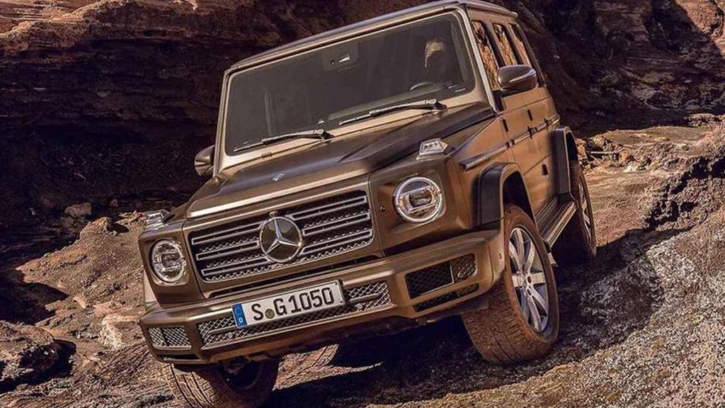 2019 Mercedes-Benz G-Class leaked - Image via AutoWeek.nl