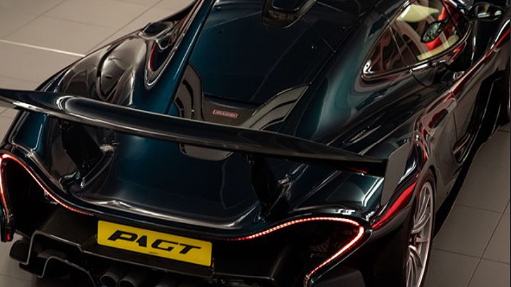 McLaren P1 GT Longtail by Lanzante