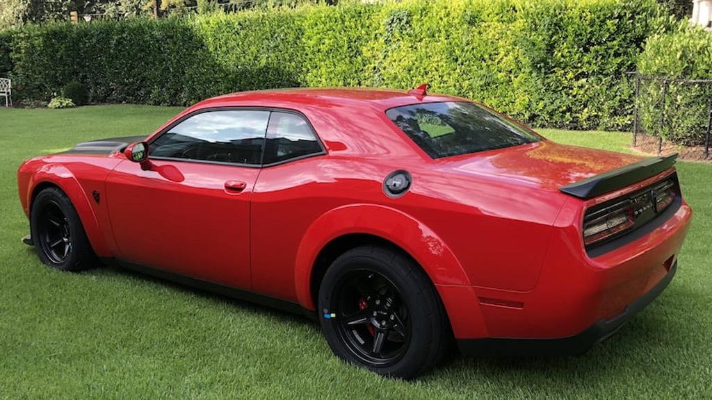 2018 Dodge Challenger SRT Demon sold in September 2018 at Mecum auction