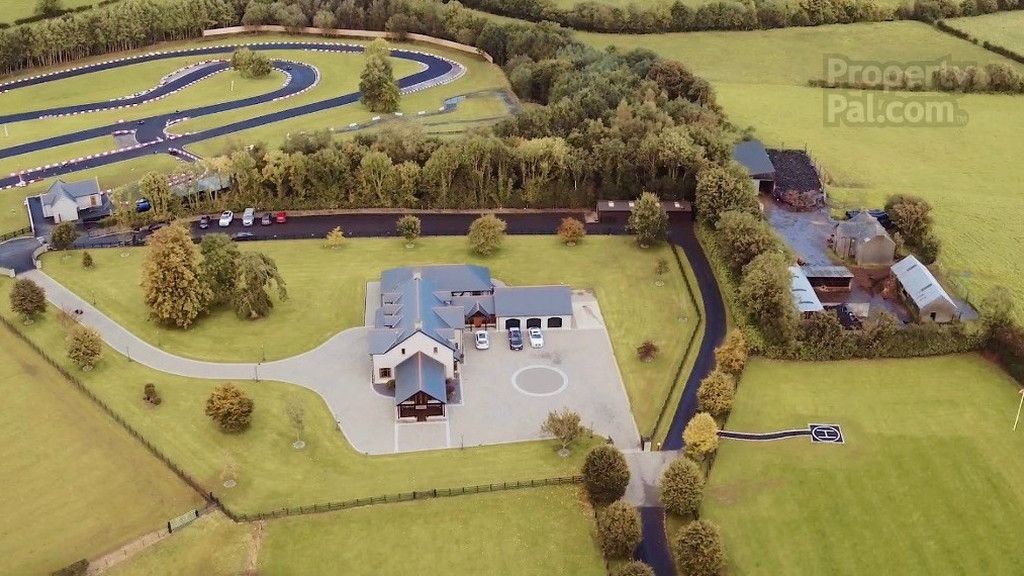 Mansion for sale with a go-kart track