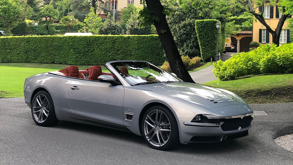 Carrozzeria Touring Superleggera Sciadipersia Cabriolet