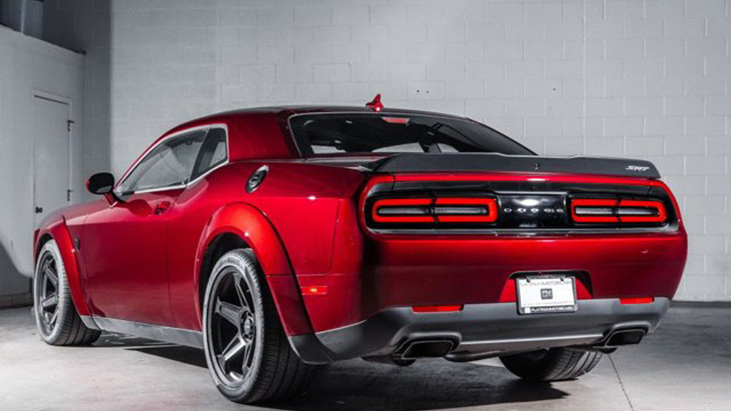 2018 Dodge Challenger SRT Demon with VIN ending in 004 - Photo credit: Platinum Motorcars Detroit