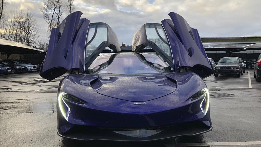 First McLaren Speedtail delivered to a customer