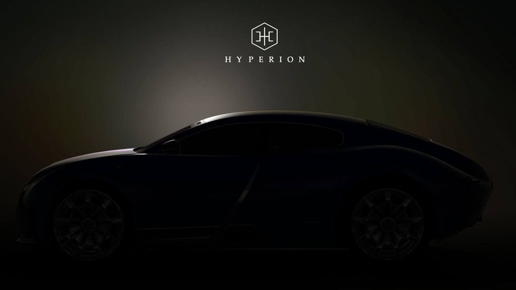 Teaser for Hyperion XP-1 debuting August 2020