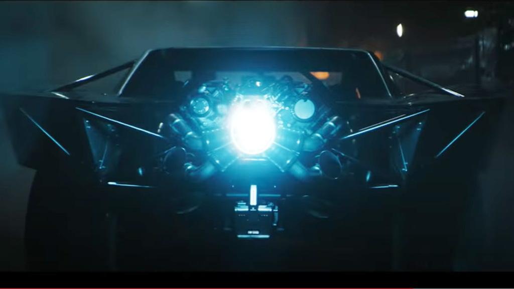 """The Batman"" Batmobile shown in trailer"