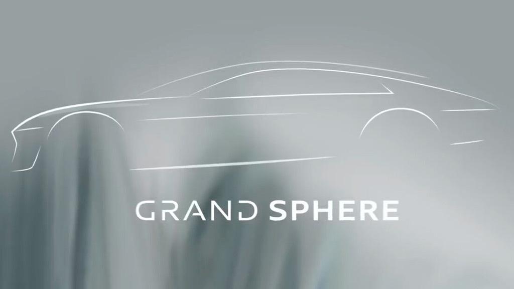 Teaser for Audi Grand Sphere