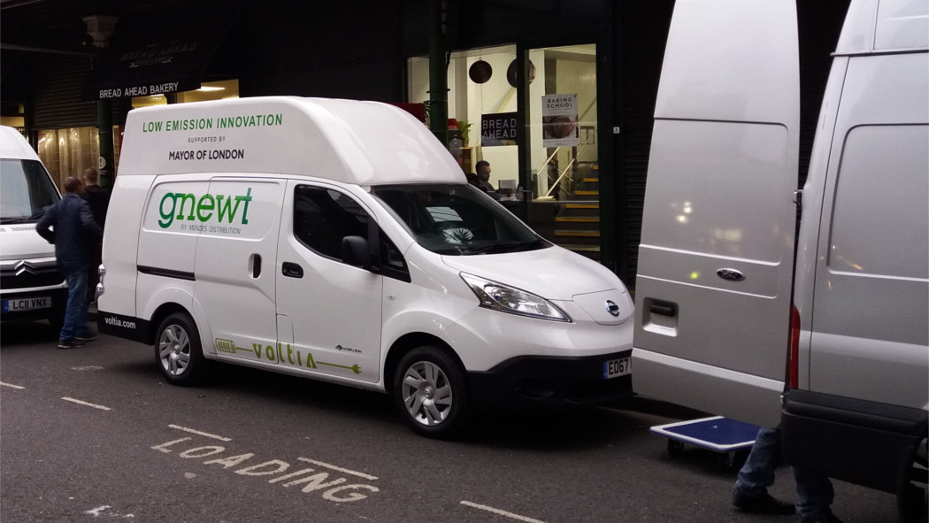Nissan-Voltia eNV200 MAXI operated by Gnewt Cargo