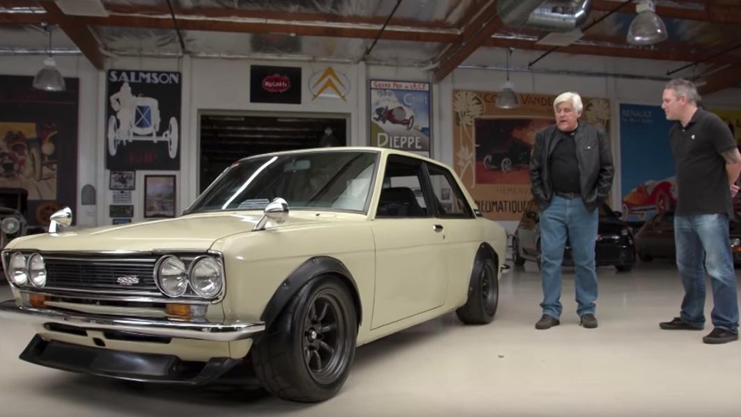 1971 Datsun 510 on Jay Leno's Garage