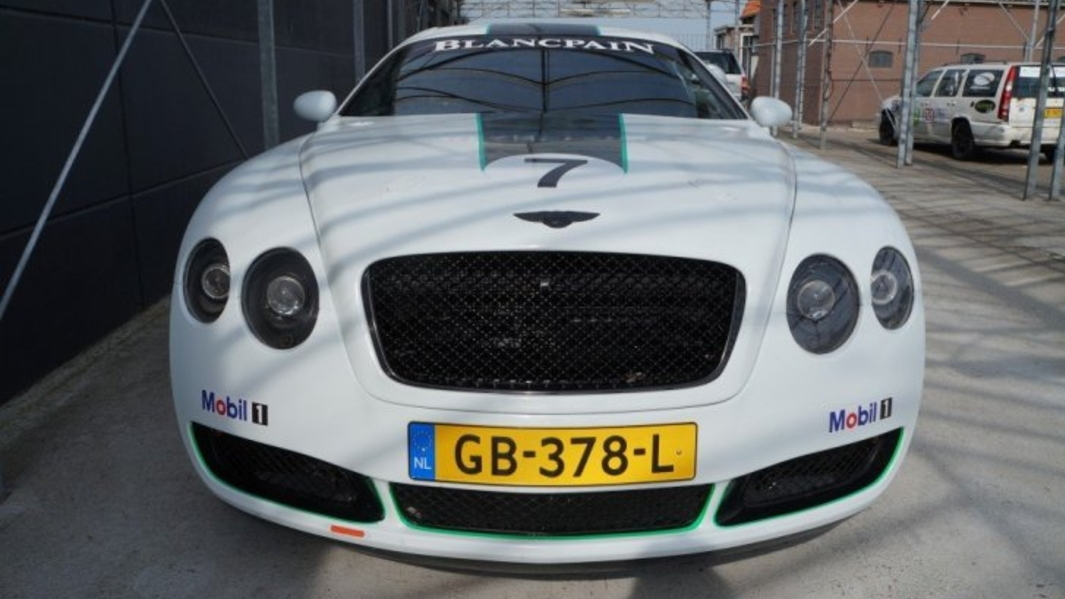 Someone turned a Toyota Supra into a replica Bentley GT3 R
