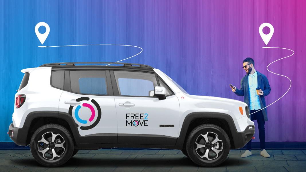 Jeep Renegade  -  Stellantis Free2Move car-sharing