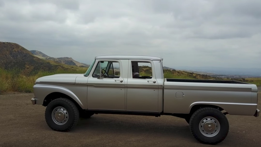 Icon Builds A Perfect Retro Modern 1965 Ford F 250