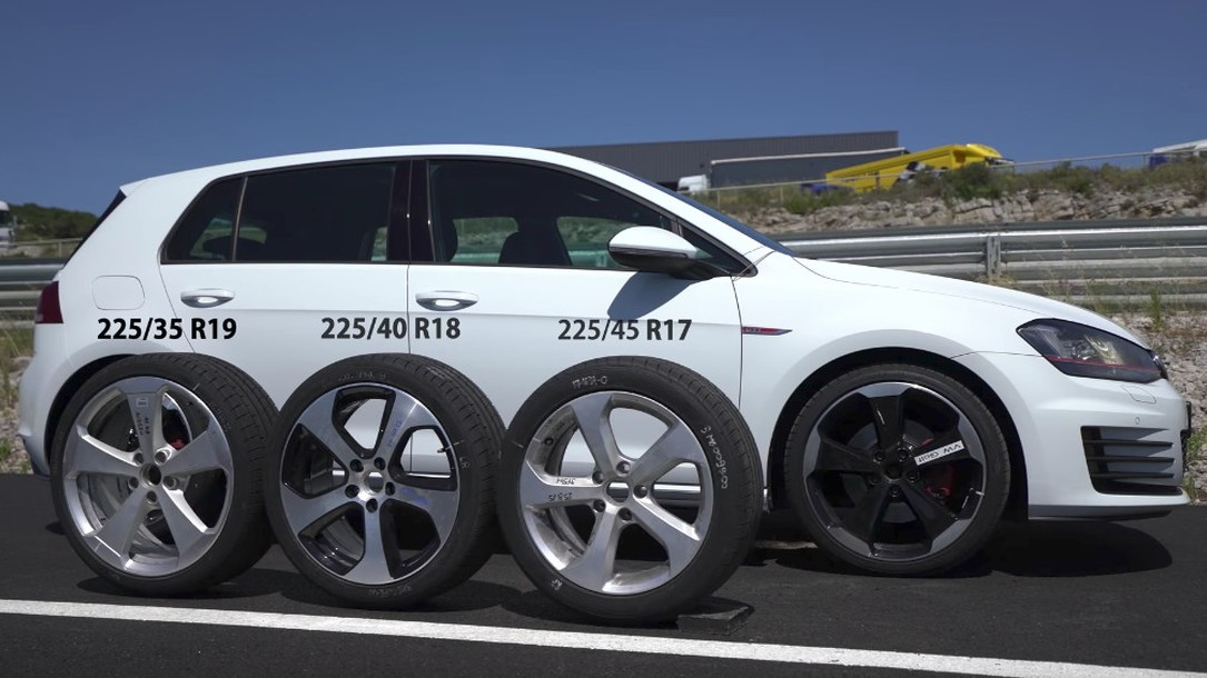 Finding The Difference Between 17 18 And 19 Inch Tires