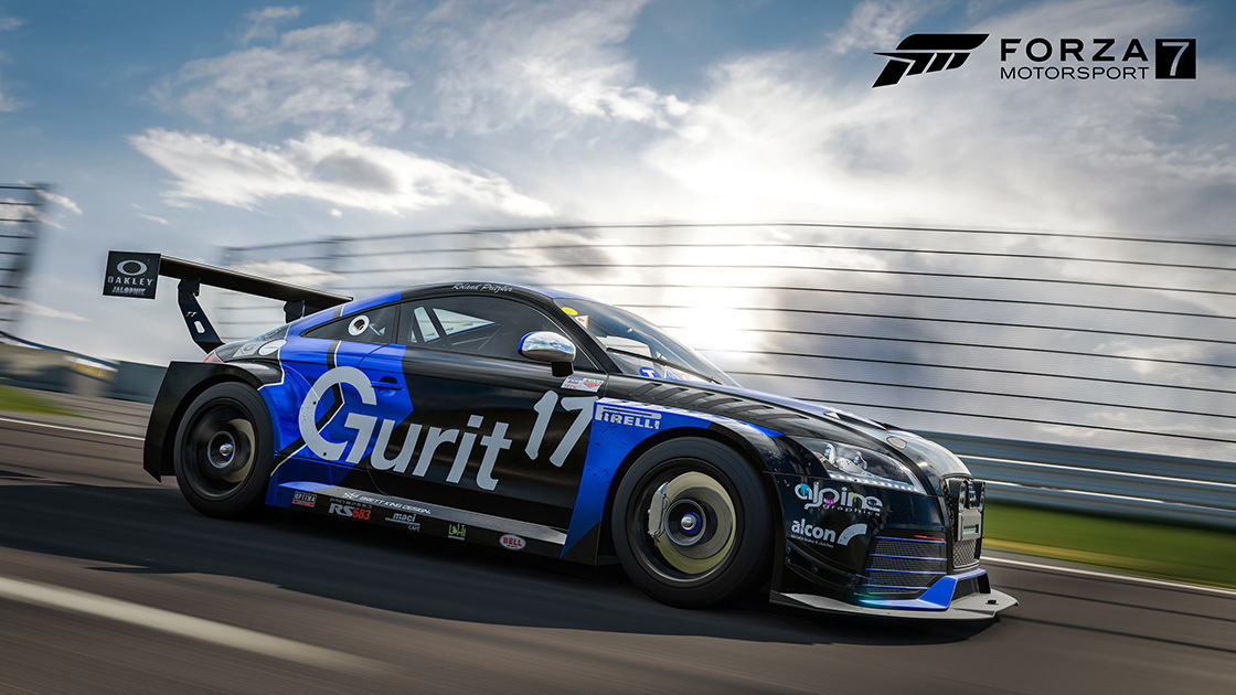Forza Motorsport 7 Rotek Racing Audi TT-RS