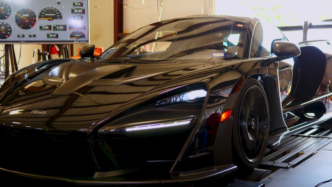 McLaren Senna on HPE dyno