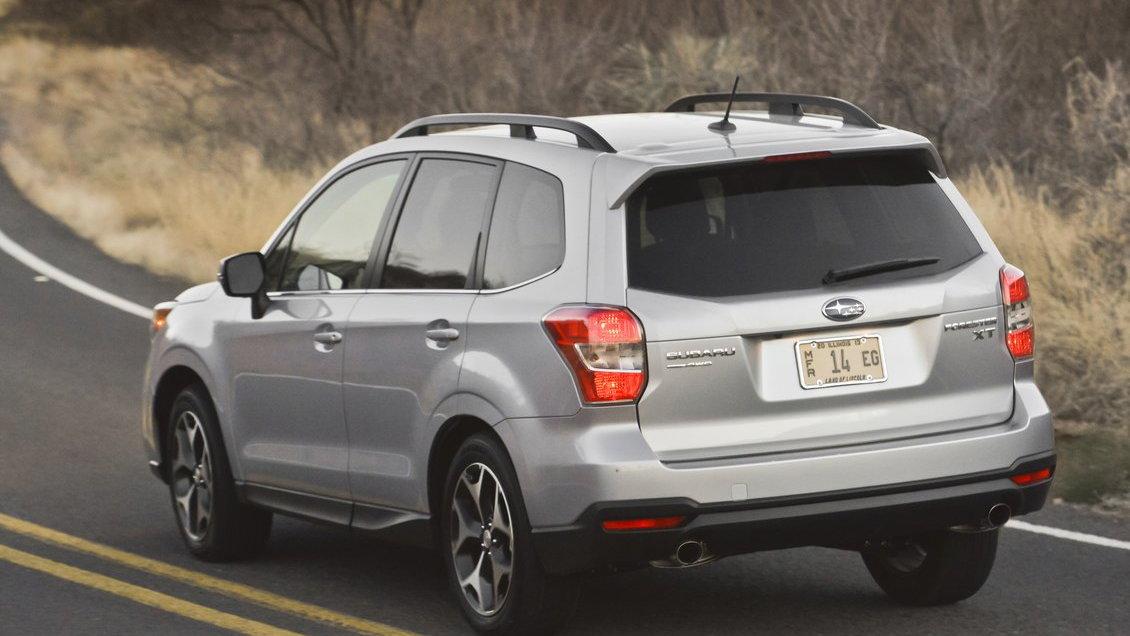 2014 Subaru Forester Aces New IIHS Crash Test