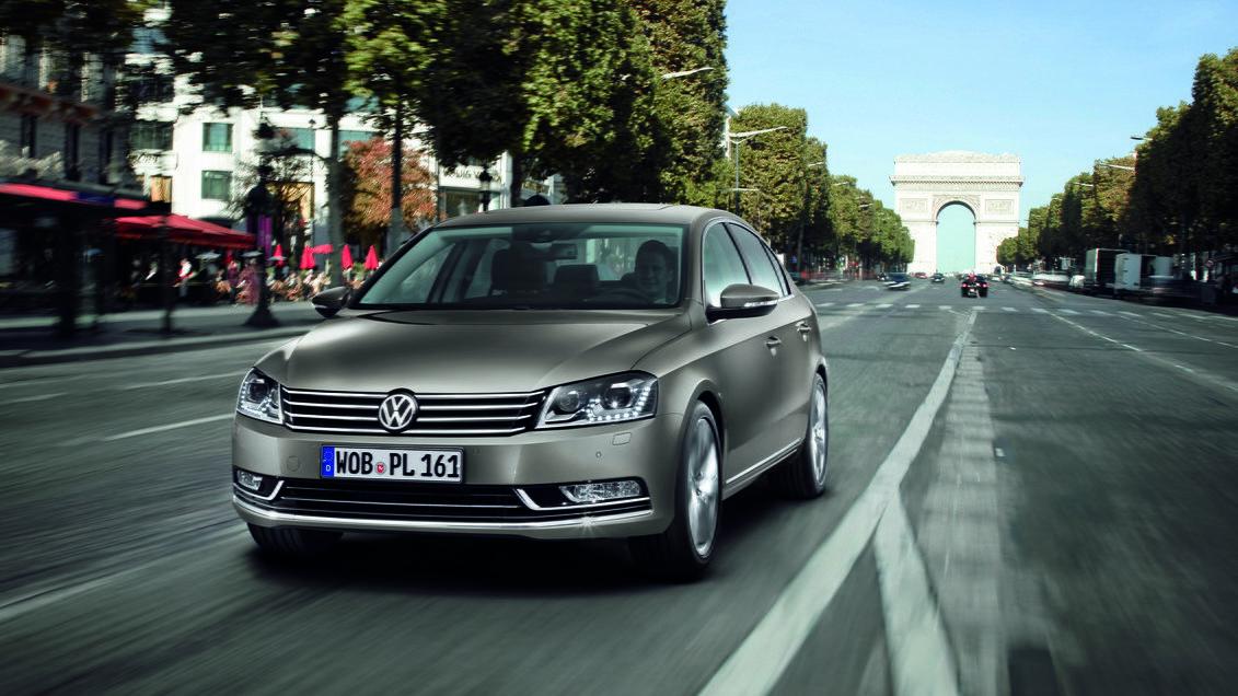 2011 Volkswagen Passat (Euro-market)