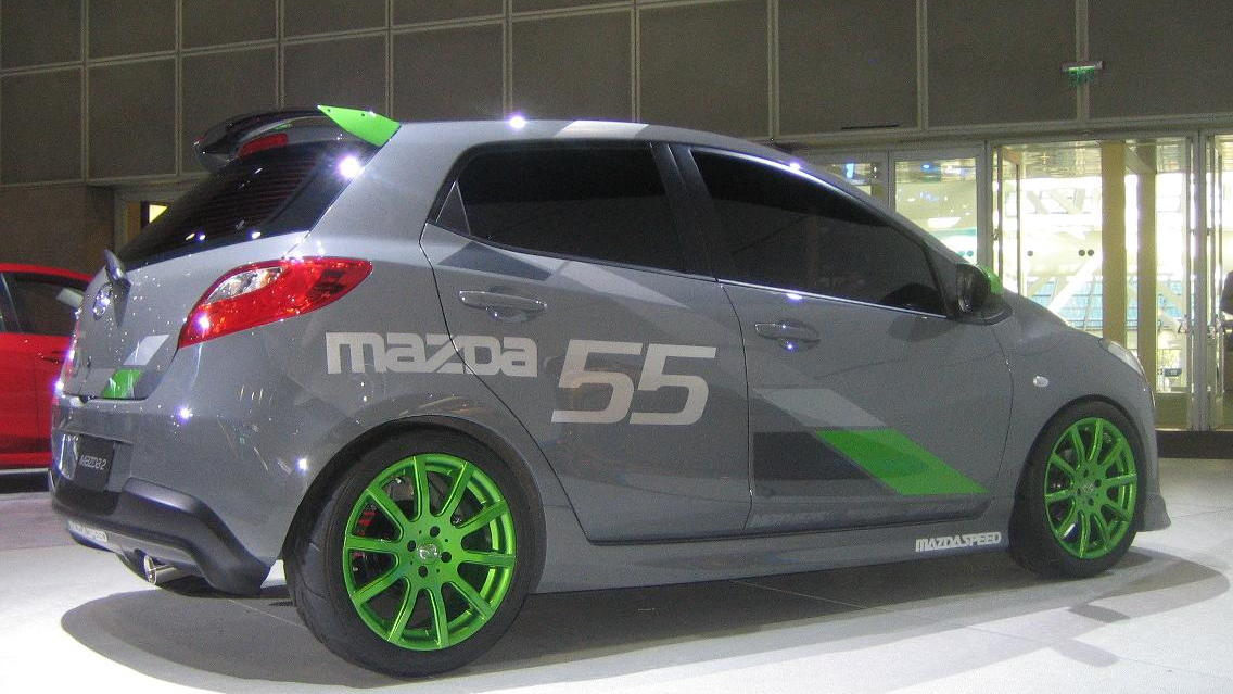 MazdaSpeed2 concept, 2009 Los Angeles Auto Show