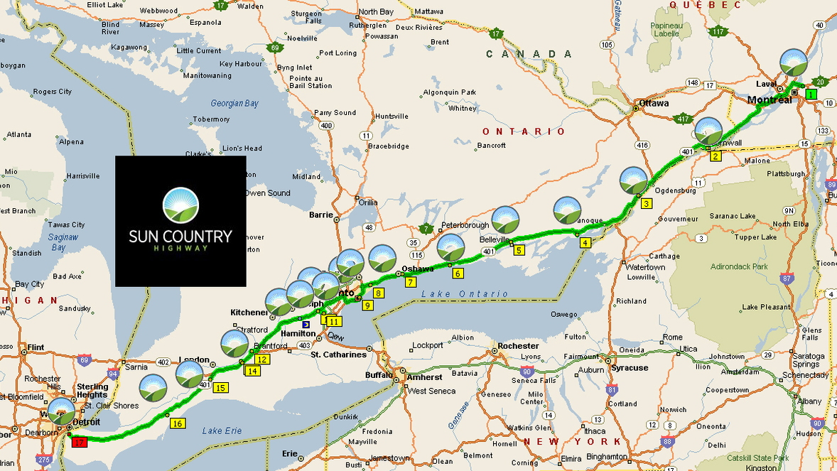 Electric Cars Can Now Travel From Montreal To Detroit Via Sun Country Charging Stations,Subway Tile On Bathroom Walls