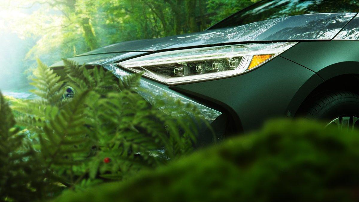 2023 Subaru Solterra teaser