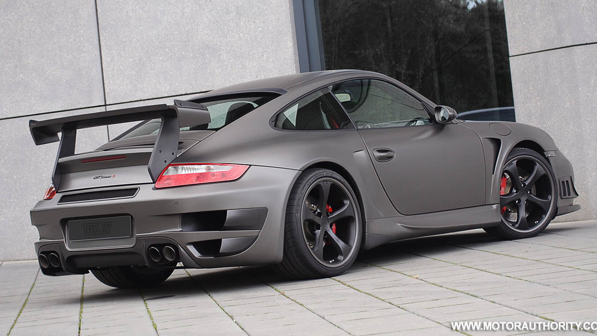 techart gt street r porsche 911 turbo 003