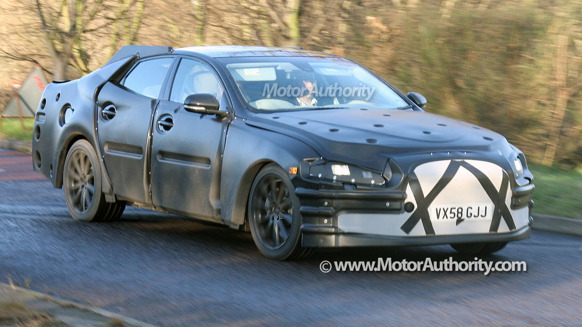 next gen jaguar xj spy shots 003