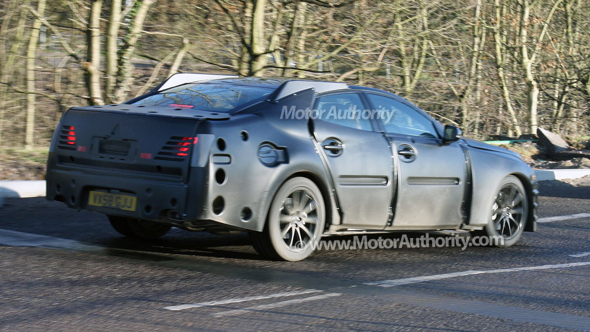 next gen jaguar xj spy shots 007