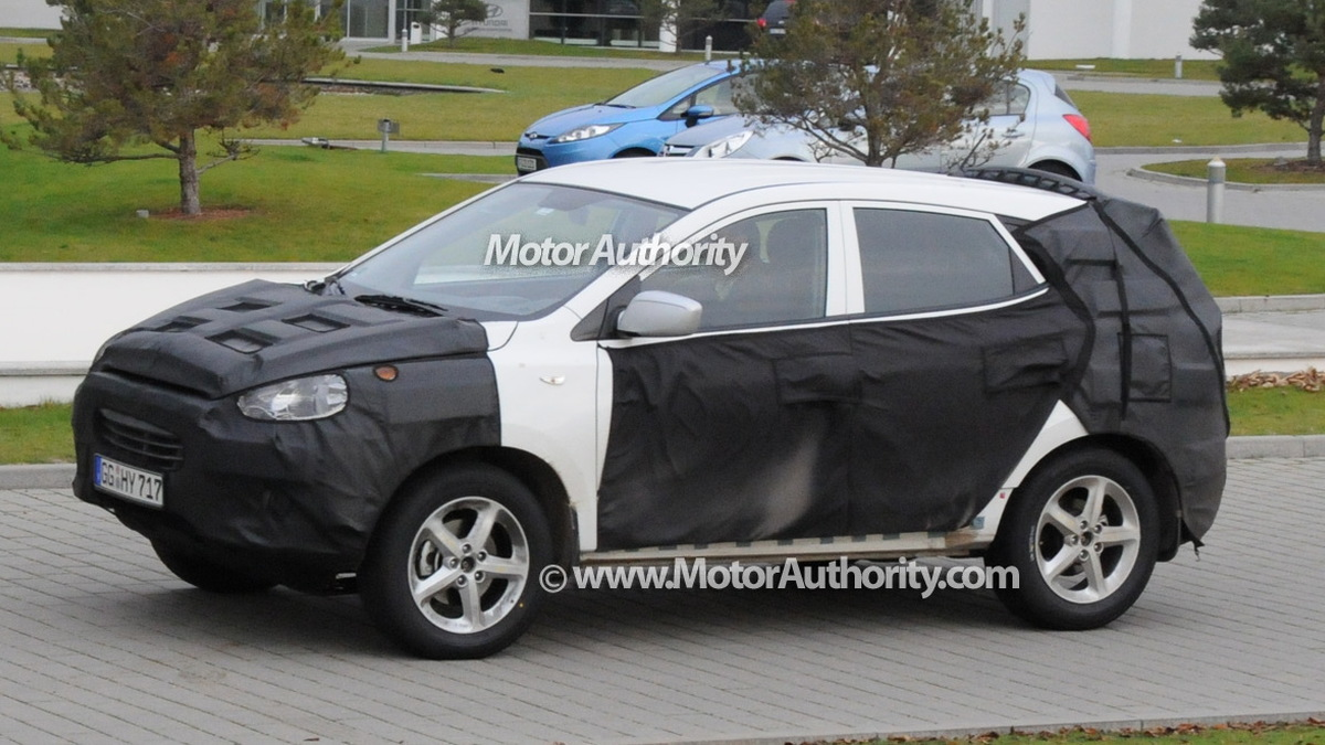 2010 hyundai tucson spy shots december 007