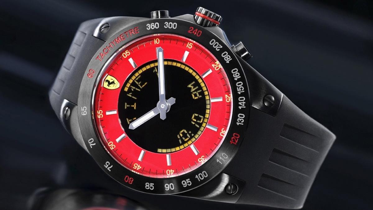 ferrari lap time chronograph 001