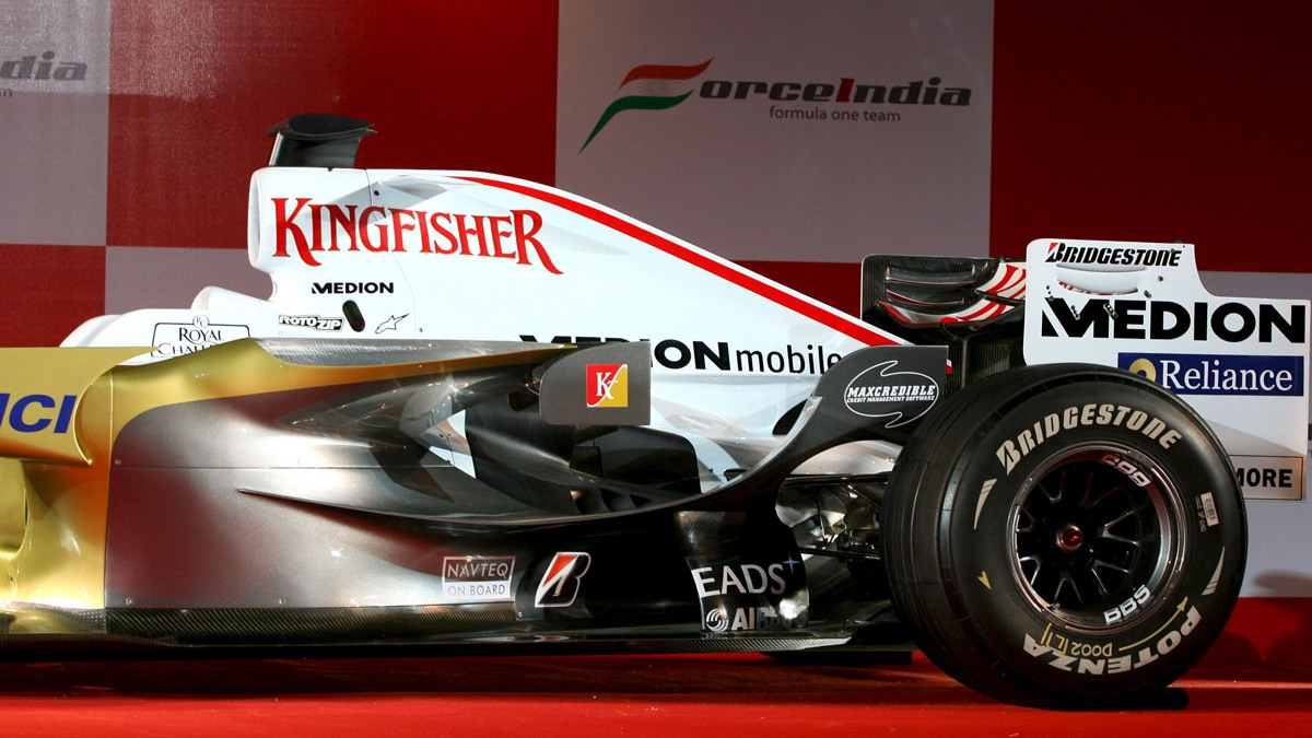 force india f104