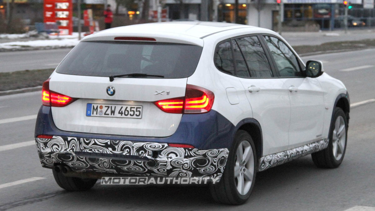 2012 BMW X1 M Sport Package spy shots