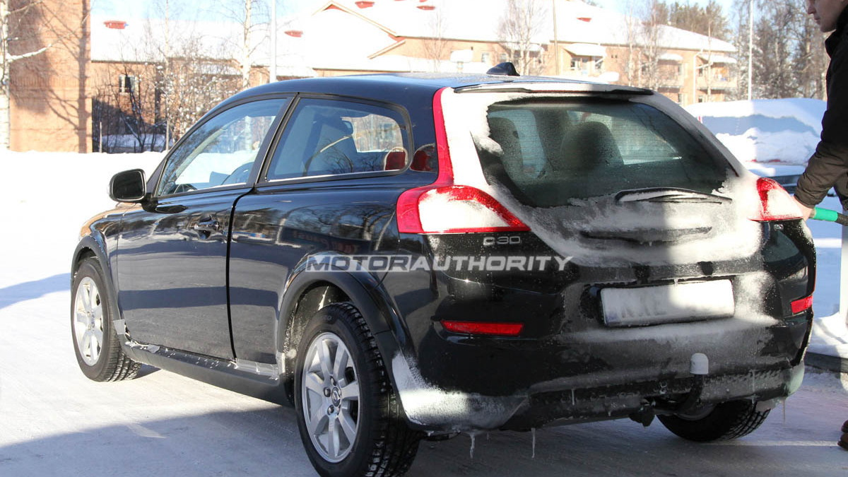 Next-generation Volvo C30 spy shots
