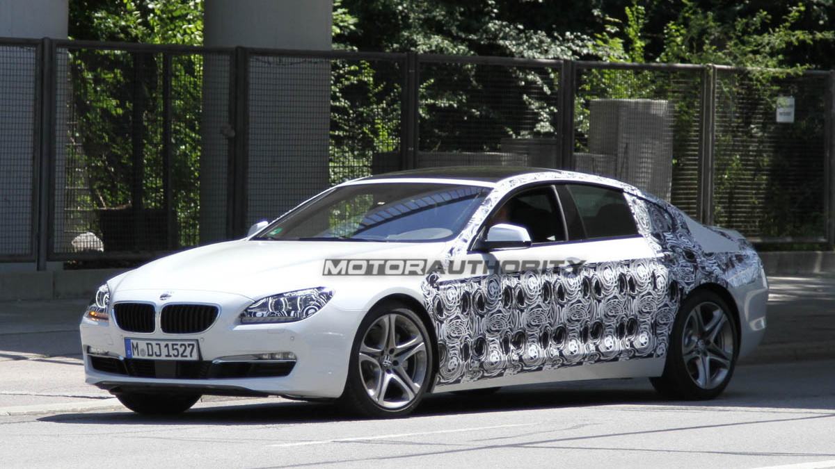 2013 BMW 6-Series Gran Coupe spy shots
