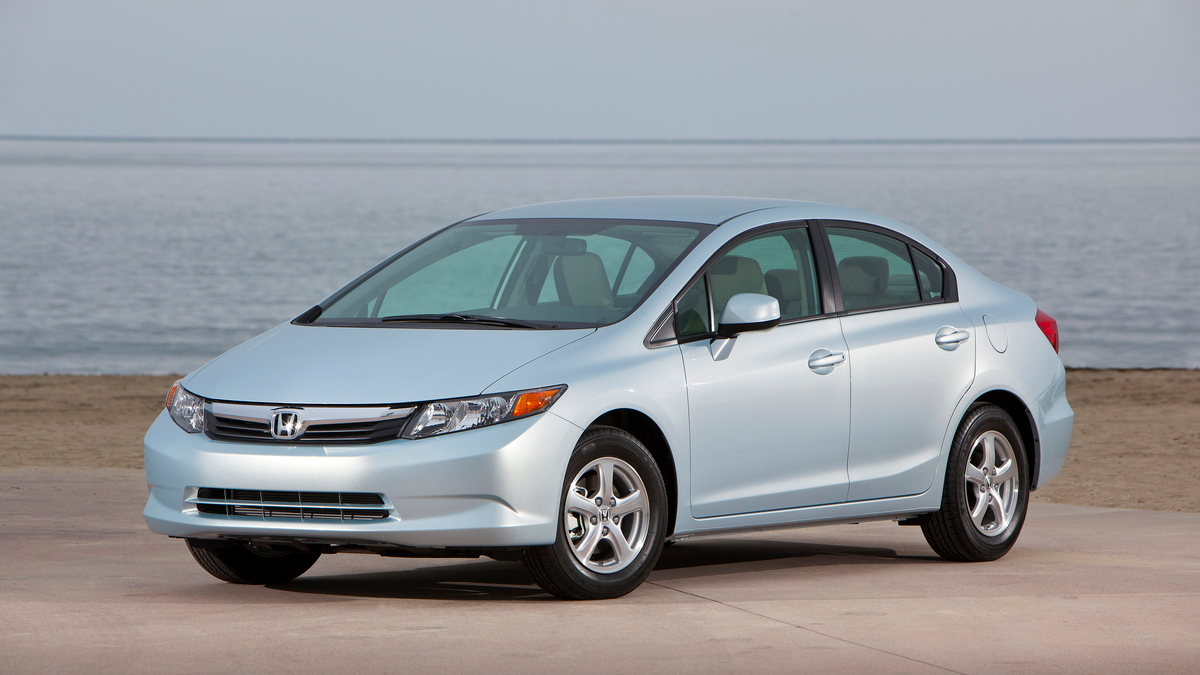2012 Honda Civic Natural Gas