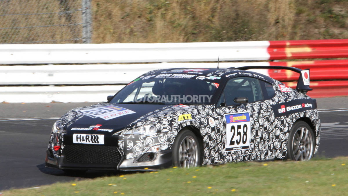 Toyota Sports Coupe (FT-86) by Gazoo Racing spy shots