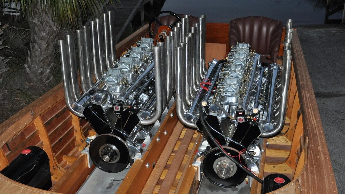 Gar Wood's Miss America VIII race boat. Image: Mecum Auctions