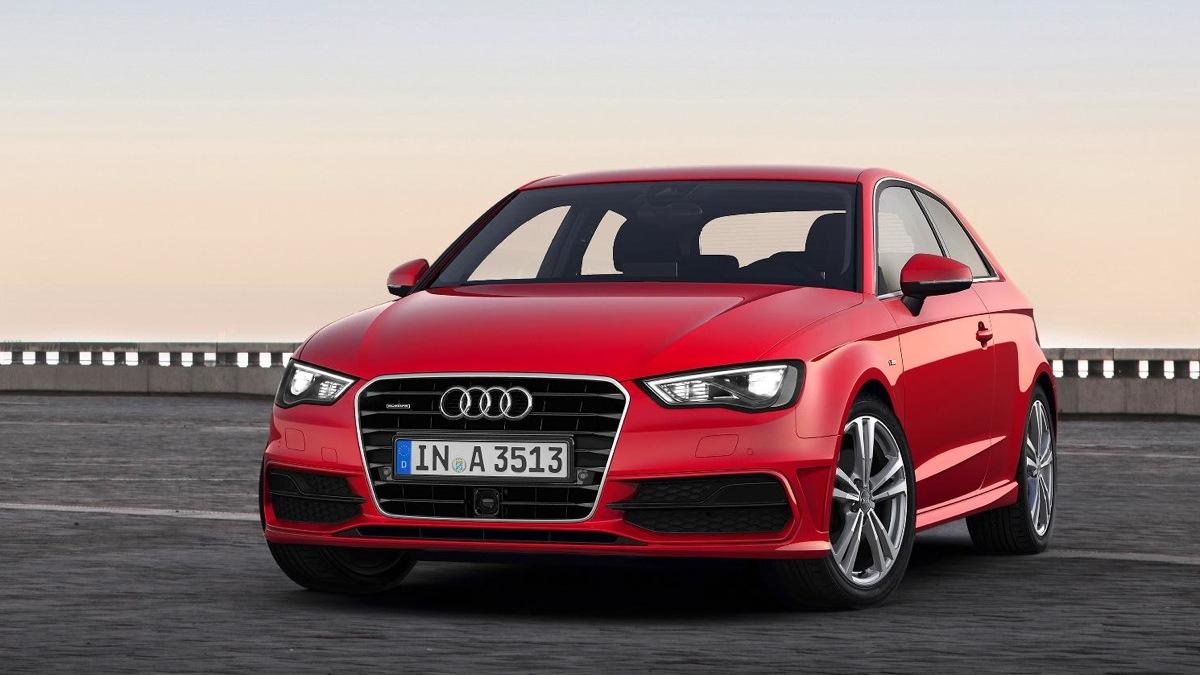 Audi's new A3, debuting at the 2012 Geneva Motor Show