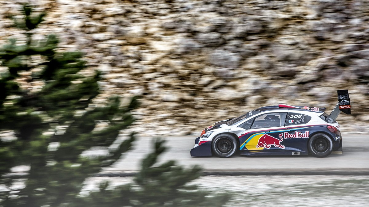 Peugeot 208 T16 Pikes Peak race car